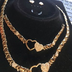 18k gold plated sets